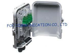 China Fiber Optic Distribution Box 8 Ports Splitters and Adapter Loaded For FTTH Networks on sale