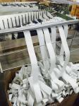 bande élastique tricotée par 42#Latex de 2cm 4.2g/cm/m, bande élastique, bande, bande élastique de polyester, accessoires de vêtement