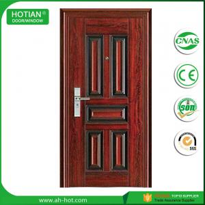 China Modern House Cheap stainless steel door design, steel security door on sale