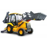 Construction Project Big Compact Tractor Loader Backhoe 21 Mpa Max Systemic Pressure