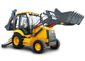 China Construction Project Big Compact Tractor Loader Backhoe 21 Mpa Max Systemic Pressure on sale