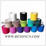 Vendaje superior coloreado de la cinta de los deportes de la kinesiología del rasgón de la mano para el abrigo común del músculo