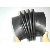 China Corrugated  Flexible Rubber Bellows Custom Molded Heat Aging Resistance on sale
