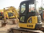 Komatsu PC55MR - 2 Second Hand Diggers12V Voltage With Rotation Pile 5160kg