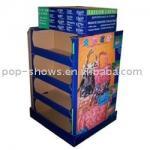 Exposições de venda elegantes do cartão da boa forma para o brinquedo das crianças