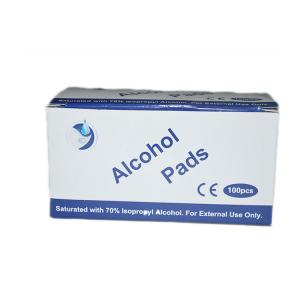 China Hot Selling 3*6Cm 70% Isopropyl Antiseptic Alcohol Prep Pad With Ce Certificate on sale