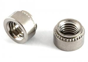 China Reusable Small Electrical Screws Stainless Steel Clinch Nuts CLS / CLSS Types on sale