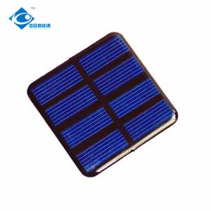 China 2V transparent solar panel for solar power system home ZW-5050 Epoxy Resin Solar Panel on sale