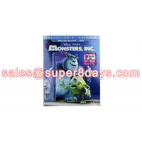 Classic Disney Blue Ray Monsters, Inc. (2001) DVD Disney Cartoon Movies DVD Wholesale Supplier