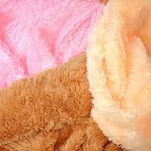 China 100% polyester high deep pile plush fleece fabric on sale