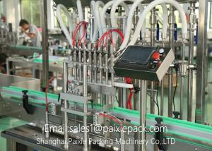 China Fully Automatic Liquid Filling Equipment Jam Filling Machine For Glass Jar on sale