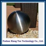 bola de acero cepillada hueco decorativo del jardín