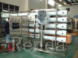 China Electric RO Water Treatment Systems SUS / PVC Pipeline Reverse Osmosis System on sale
