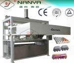 Бумажный отливая в форму формировать подноса плодоовощ пульпы/машина коробки яичка, 1000pcs/h