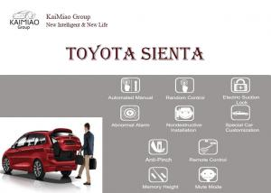 China Toyota Sienta Smart Auto Electric Tail Gate Lift Double Pole Top Suction Lock on sale