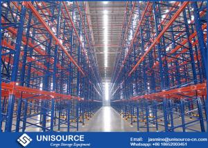 China High Density Industrial Garage Shelving Upright Frame With Long Warranty Time on sale