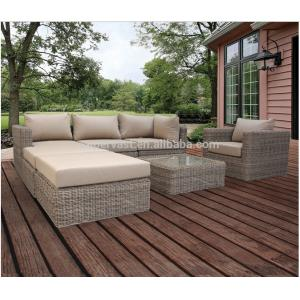 China UV Resistant Contemporary Patio Sectional Sofa , Outdoor Patio Sectional Furniture on sale
