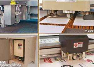 China Graphics Flatbed Sample Cutting Machine , Plotter Cutter Machine on sale