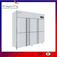 Big Volume 6 Door Commercial Refrigerator Stainless Steel Fridge for Business Use with CE