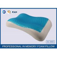 China Therapeutic Memory Foam Cooling Gel Pillow with Soft Cover , Cooling Gel Bed Pillow on sale