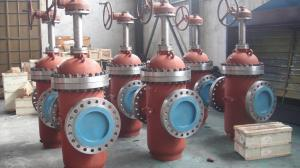 China Pipeline Conduit Expanding 2 - 42 Size Class 150 / 300 Stainless Steel Gate Valves on sale