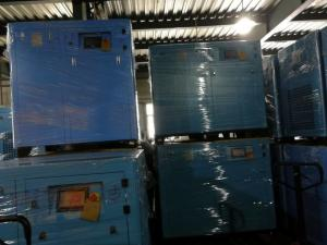 China Direct Driven Variable Speed Screw Compressor VSD With PLC Control on sale