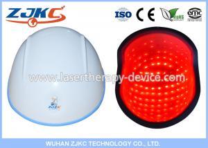 China GaAlAs Semiconductor 650nm LLLT Laser Hair Cap Laser Hair Growth Treatment on sale