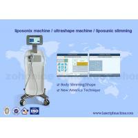 China HIFU ultrashape liposonix slimming weight loss equipment AC 100-240V, 50/60 Hz on sale