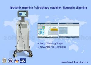 China HIFU ultrashape liposonix slimming weight loss equipment AC 100-240V, 50/60 Hz on sale