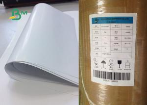 China 80g 90g C1s Art Paper / Glossy One Side Coated Art Paper For Printing on sale