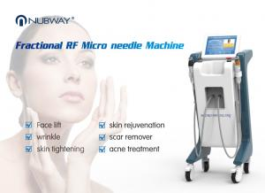 China OEM approved wrinkle removal fractional rf microneedle beauty machine for scar on sale