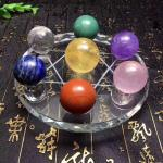 Sphere Crystal Stone Decor