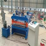 IBR Metal Step Tile / Roofing Sheet Roll Forming Machine Color Steel Sheet