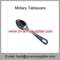 Wholesale Cheap China Military Philippines Army Police Food Knife Spoon Fork
