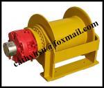custom designed hoisting hydraulic winch for marine application from China