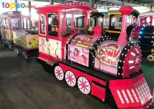China Playground Little Pony Electric Ride On Train For Kids Environmental Friendly on sale