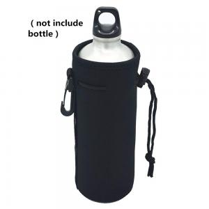 China Portable Neoprene Insulated Bottle Cooler Carrier on sale