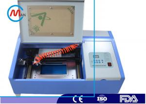China High Precision Rubber Stamp Mini Laser Cutting Machine For Home Water Cooling supplier