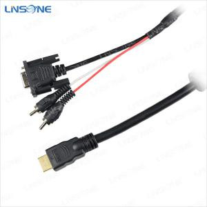 China Linsone rca plug with mini hdmi cable on sale