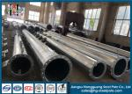 OEM Hot Dip Galvanised Steel Pole For Electrical Power Transformer Substation