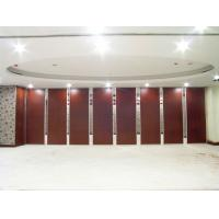 China Malaysia Folding Partition Walls , Panel Height 6 m Removable Room Divider on sale