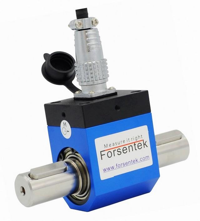 Rotary torque sensor motor torque measurement ec91106080 for Measure torque of a motor
