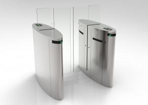 China Security Turnstile Gate With Card Reader , Office Lobby Swing Gate Turnstil 3000000 Cycles on sale