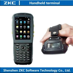 China 2016 hot 3G Rugged handheld pda with wifi bluetooth NFC , android pda barcode laser scanner on sale