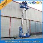 China 14m High Rise Window Cleaning Lift System , Aerial Wok Hydraulic Work Platform Lift wholesale