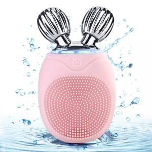 China Electric Facial Cleansing Brush Deep Clean & Skin Care Roller Massage Exfoliator on sale