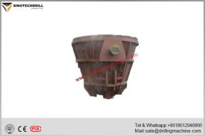 China 40cr Forging Geological Instruments Elliptical Welded Slag Pot 35.6ton Weight on sale