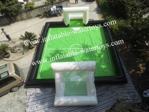 China 0.9MM Plato PVC Inflatable Soccer Field on sale