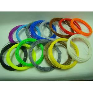 China 42 Colors PLA 3D Pen Filament Refills 1.75 mm 20 Foot / 10 Foot on sale