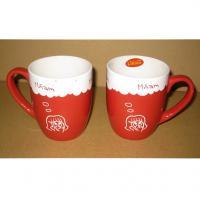 Export 3505 ceramic  mug Certificate of authentication SGS/CE/ROHS custom LOGO coffee MUG mark cup